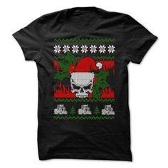 Ugly Sweater Farmer T Shirts, Hoodies. Get it now ==► https://www.sunfrog.com/Christmas/Ugly-Sweater-Farmer-Shirt-.html?41382