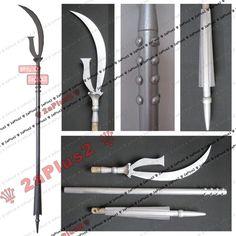 Sailor Moon Saturn Cosplay Prop Weapon Wand Staff Scythe