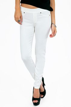 Zoey Zip Ankle Leggings $32 at www.tobi.com