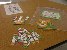cute math idea...I like how they have to match the tallymarks