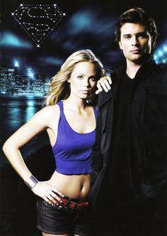 Kara and Clark. #Smallville