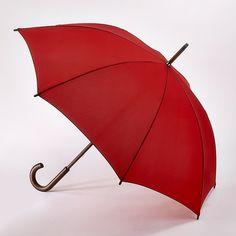 Fulton Classic Kensington Umbrella in Lipstick Red