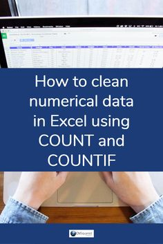 How to clean numerical data in Excel using Count and Countif #exceltips