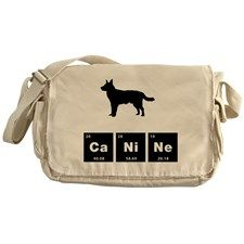 Australian Cattle Dog Messenger Bag for