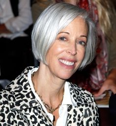How to go gray gracefully...