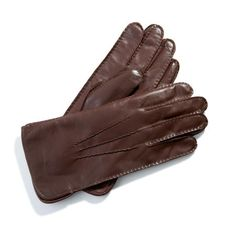 Brown Leather Gloves, Dark Brown Leather, Leather Men, Commute To Work, Aspinal Of London, Mens Gloves, After Shave, Cashmere, Pure Products