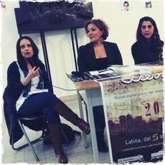 """""""Salvami l'anima"""" a Latina nell'ambito del festival """"Lievito 2013"""" con Serena Manfrè, Rossana Carturan e Amalia Caratozzolo"""