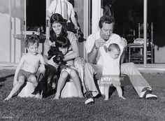 Andy Williams, wife Claudine, & sons Christian & Bobby Get premium, high resolution news photos at Getty Images Perry Como, Andy Williams, Celebrity Kids, Bobby, Sons, Nostalgia, Daughter, Christian, Couple Photos