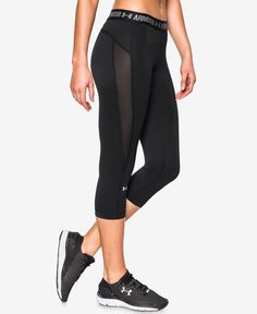 Under Armour CoolSwitch HeatGear Capri Leggings