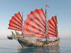 Китайский корабль старья