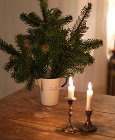 Winter decoration. Instead of flowers. From UnderbaraClara | UnderbaraClaras värld