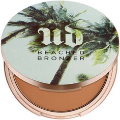 Urban Decay Beached Bronzer, Bronzed 0.31 oz (9.2 ml) found on Polyvore featuring beauty products, makeup, cheek makeup, cheek bronzer and urban decay