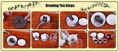 Box detoxing tea compressed ripe pu'er tea