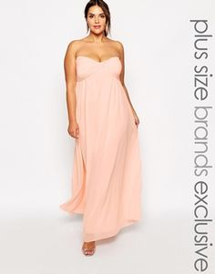 Truly You Bandeau Maxi Dress