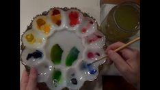 How to Paint Leaves - 5 Leaf Studies