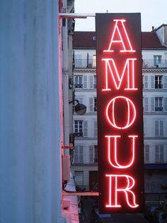 """""""amour"""" en rouge et rose, passion et douceur... AMOUR"""