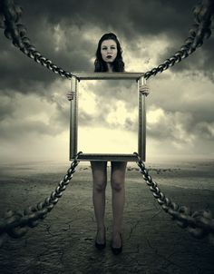 Photo Frame in Photoshop Manipulation Surrealism Photography, Conceptual Photography, Art Photography, Surreal Photos, Surreal Art, Deviantart, Computer Art, Magritte, Photo Manipulation