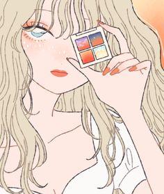 """たなか@9/26画集発売🌈 on Twitter: """"ぼつ… """" Cute Art Styles, Cartoon Art Styles, Cool Anime Girl, Anime Art Girl, Art And Illustration, Aesthetic Art, Aesthetic Anime, Character Art, Character Design"""