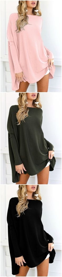 Army Green Crew Neck Long Sleeves T-shirt US$15.95