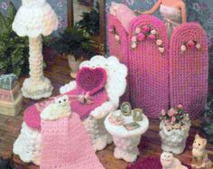 Vintage Crochet Pattern PDF Fashion Doll por ToysWereUsPatterns