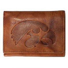 Iowa Hawkeyes Leather Wallet - Mills Fleet Farm