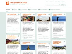 Sampression Lite is a fully responsive theme, perfect for blogging. It's lightweight responsive design allows this theme to adapt across a range of screen sizes. Besides an elegant design, Sampression Lite features customizable menus and widgets, along with a threaded comments section. It supports sticky notes with special effects and allows for the best placement of feature images on posts.