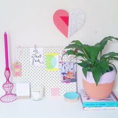 Some colourful pots & a touch of greenery - The Eye Spy Milk Bar blog