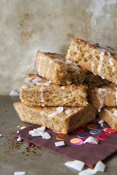 Coffee Coconut Blondies by Heather Christo, via Flickr