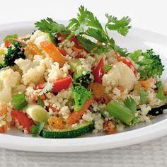 Recept - Couscous met zeven groenten - Allerhande
