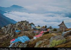 View From Churdhar , Himachal Pradesh , India