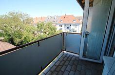 4,5-Zimmer-Wohnung in der Karlsruher Oststadt: Balkon