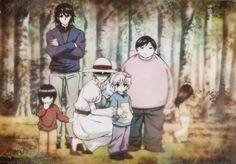 La hermosa familia zoldyck ♥