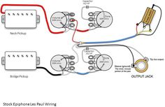 guitarelectronics com guitar wiring diagram 2 humbuckers 3 way rh pinterest com les paul wiring diagram les paul wiring diagram dimarzio