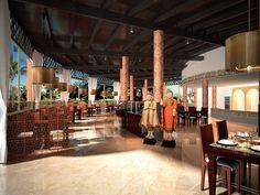 A fantastic range of restaurants and bars at the Atlantis Fuerteventura resort.