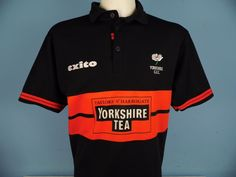 Authentic Yorkshire County Cricket Club CCC shirt Size Medium 2003 Exito