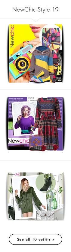 """NewChic Style 19"" by amerlinakasumovic ❤ liked on Polyvore featuring polyvoreeditorial, PolyPower, L'Oréal Paris, Nivea, BMW, Yves Saint Laurent, Estée Lauder, Hemingway, Valentino and Ÿù"
