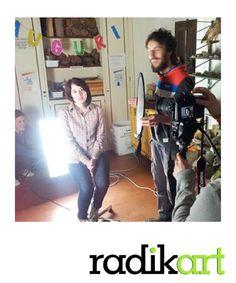 Sabato, alla Fondazione Ferretti, V° appuntamento con il corso Videomaker!! LA LUCE!!! Bellissima lezione! Stay tuned with http://www.radikart.it/