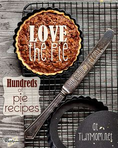 Hundreds of Pie Recipes at Love the Pie at TidyMom.net