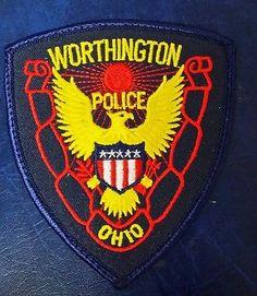 WORTHINGTON-OHIO-POLICE-PATCH