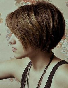 Thick A Line Short Bob Hairstyles 2017