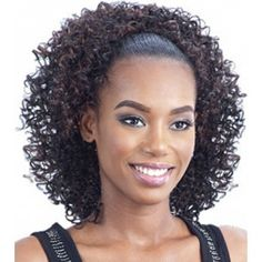 Curly Drawstring Ponytail Hairstyles 10568 25 Best Drawstring Curly Ponytails Images In 2019 Short Ponytail, Weave Ponytail Hairstyles, Clip In Ponytail, Ponytail Ideas, Kinky Curly Hair, Curly Hair Styles, Black Girl Ponytails, Curly Drawstring Ponytail, Night Out Hairstyles