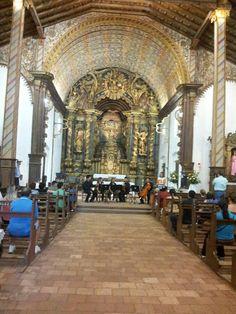 Iglesia Sn Buenaventura. Arte Barroco Franciscano-Guarani S. XVII Cdad. Yaguaron Paraguay.