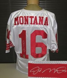 Joe Montana Signed San Francisco 49ers Jersey with COA by Autograph-Sports | #SportsMemorabilia #JoeMontana #SanFrancisco49ers
