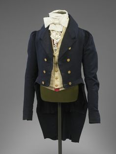 Man's Suit 1815-1820 The Victoria  Albert Museum