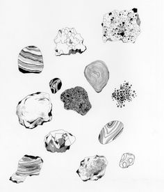 visualgraphc:Stones Print by Caitlin Foster