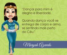 Bem vinda Maryah Azevedo! <3 #centraldancadoventre #dancadoventre #bellydance #mascote