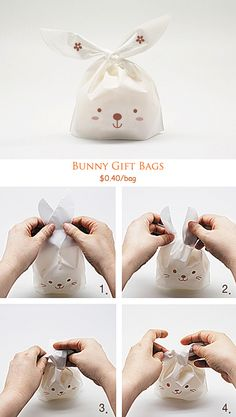 OMG! How cute are these Bunny bags!!!!