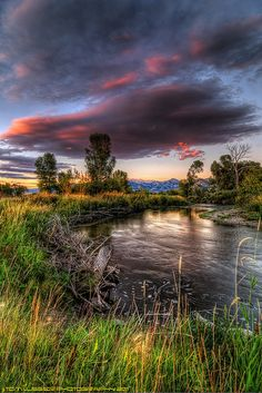 East Gallatin River, Bozeman, Montana; photo by Tom Lussier