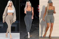 Kim Kardashian Wore 9 Yeezy Outfits in a Day - Giving a Sneak Peek at Kanye's Season 6 Collection