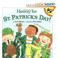Children can lift the flaps for interactive fun as they see the children in this book make holiday crafts, taste traditional Irish food, perform a play about Saint Patrick, and even march in a Saint Patrick's Day parade. As an added bonus, they can search for the hidden leprechaun on each spread.